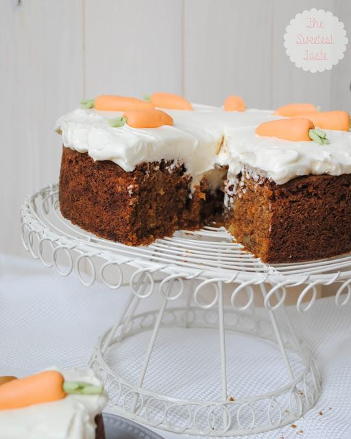 The Sweetest Taste: Mi receta de Carrot Cake
