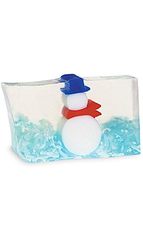 Primal Elements Snowy 6.0 Oz. Handmade Glycerin Bar Soap Best Price