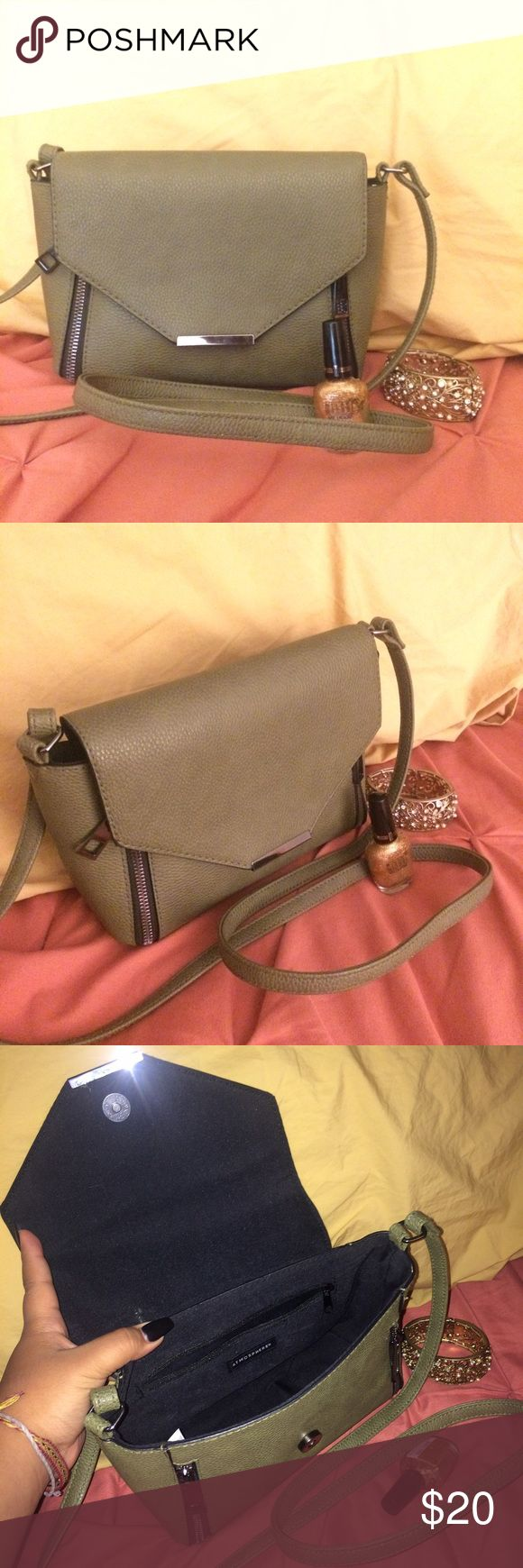 Olive Green Small Hand Bag Primark Bag perfect for fall Forever 21 Bags Crossbody Bags