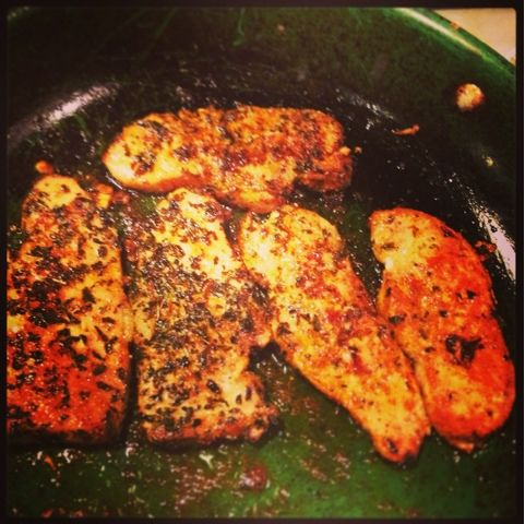 Paleo'ish on a Dime: Spice-crusted Pork Chops (Paleo / GFCF)