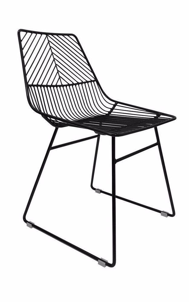 Details About New Sive Indoor Wire Bend Net Chair Cafe Seat Dining