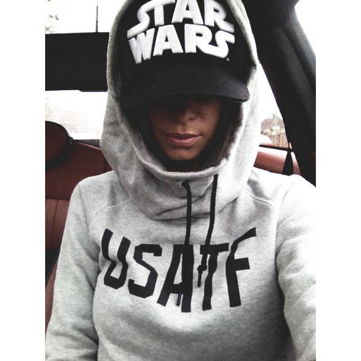 Regina Dukai in Nike Hoodie