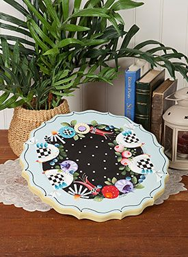Scalloped Lazy Susan