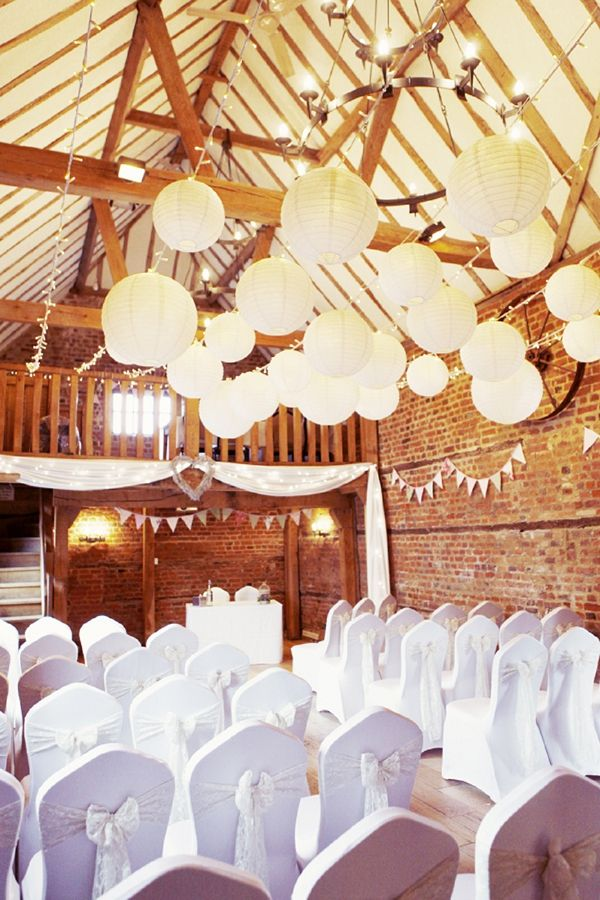 lanterns & festoon lights, image by http://www.rebeccaweddingphotography.co.uk/