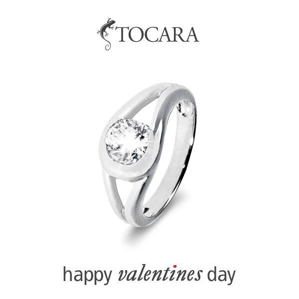 Les anneaux de Tocara ont été le début de belles grandes soirées de St-Valentin depuis des années. Joyeuse St-Valentin!
