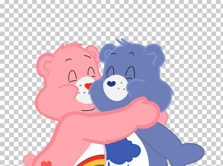 Grumpy Bear Care Bears Hug Png Clipart Animals Art Bear Bear Hug Care Free Png Download Cute Stickers Sticker Art Small Canvas Art