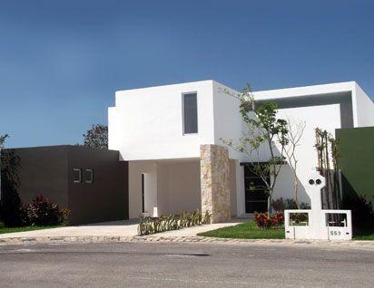 Entradas relacionadas portones modernos minimalistas - Fachadas de casas pintadas ...