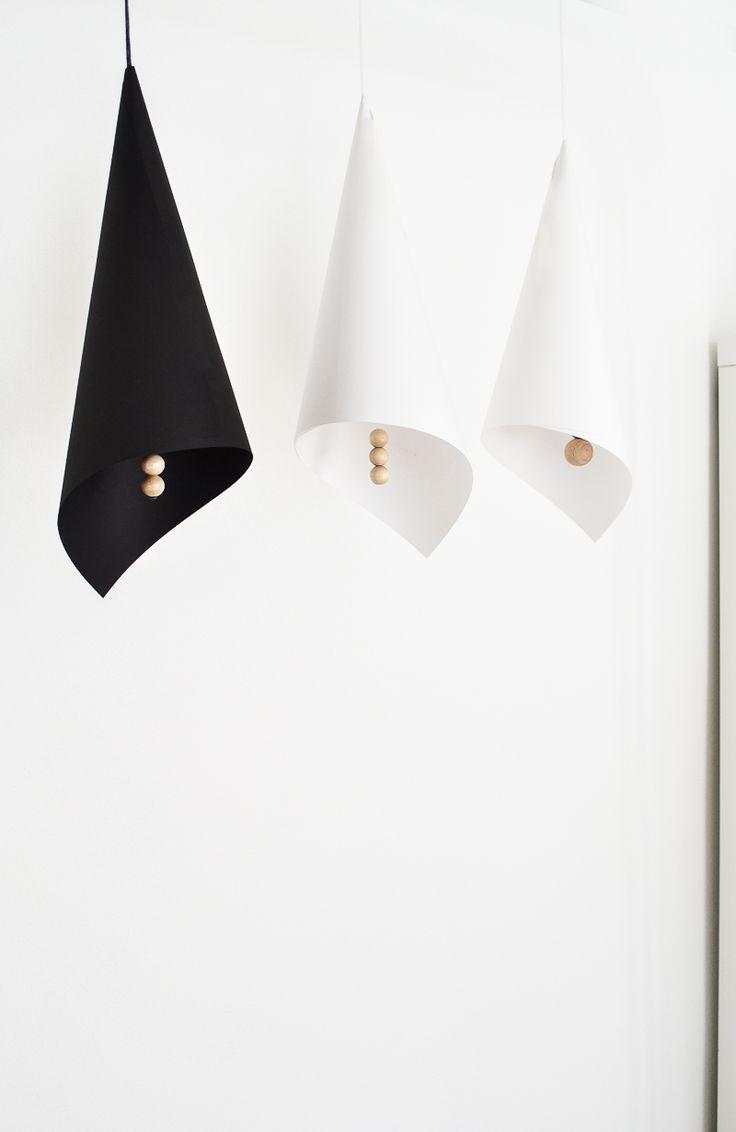 DI Folded Lampshades