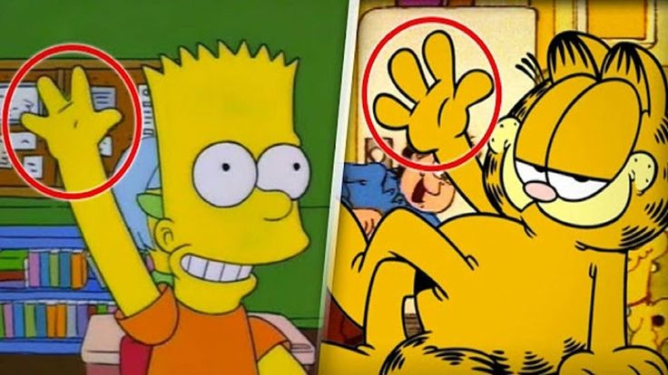 Escalofriante razón porque las caricaturas tienen 4 dedos