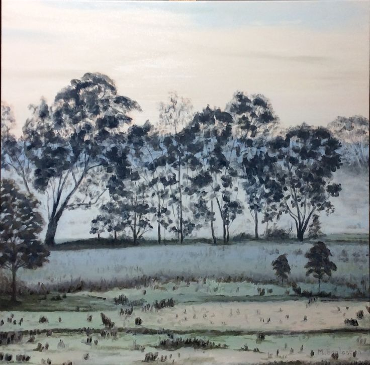 Dawn, Wangaratta billabong