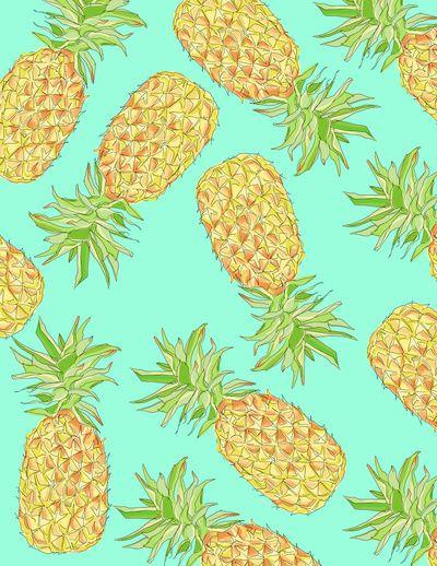 Pineapple of My Eye Art Print - Create your own Converse @ www.unickz.nl