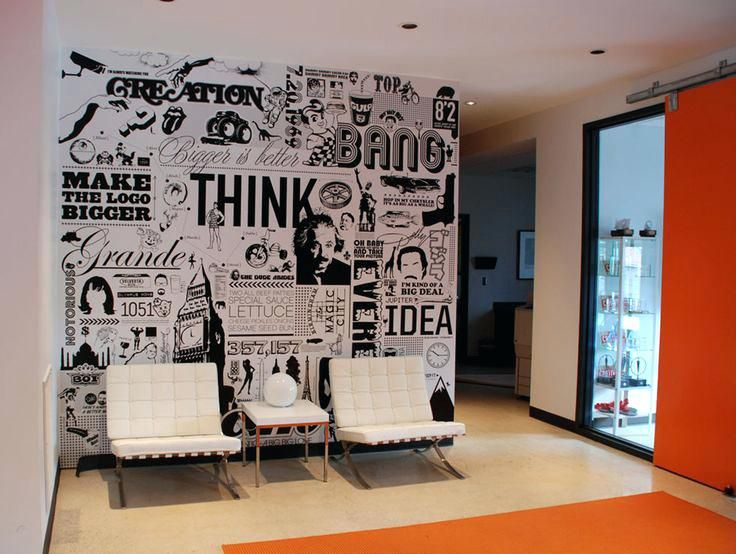 Office Graffiti Wall Fabulous Wall Ideas For Office Best Ideas About Office Wall Graphics On Office Facebook O Office Walls Office Mural Office Interior Design