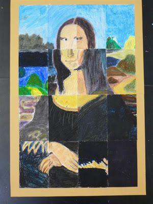 SAMENWERKEN AAN 1 GROOT KUNSTWERK The Calvert Canvas: Adventures in Middle School Art!: 6th Grade