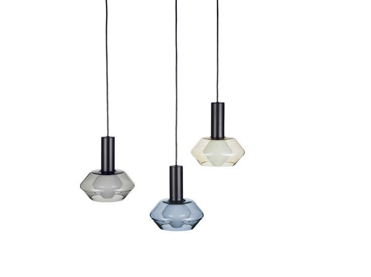 TW003 + <b>GLASS</b> SHADE Pendelleuchte by Artek <b>Design</b> Tapio ...