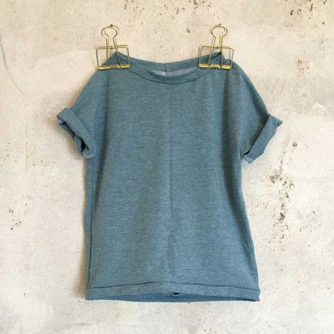 Lazy Day T.shirt - Blue Melange