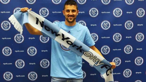 David Villa was the first player signed by NYCFC when he was officially unveiled on June 2, 2014 before participating with Spain at the FIFA World Cup in Brazil. The 33-year-old forward is the all-time leading scorer in Spain national team history and the most experienced player on the NYCFC roster.  During a storied career in Europe, he won both the FIFA World Cup and EURO championship titles with Spain as well as the UEFA Champions League with FC Barcelona in 2011.