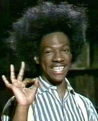 Eddie Murphy aka Buckwheat Saturday Night Live