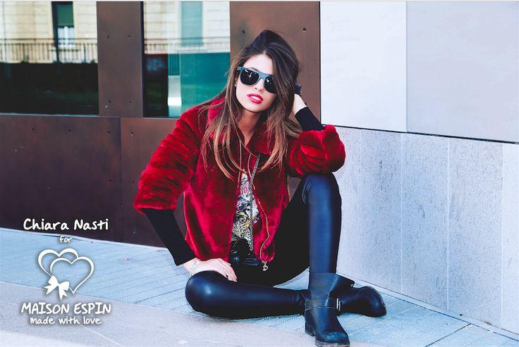 ADV CAMPAIGN Chiara Nasti #testimonial #maisonespin #fw14 #collection #lovely #backstage #madewithlove #chiaranasti #cotril