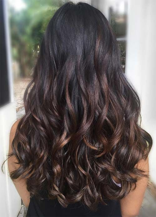 25 unique chestnut highlights ideas on pinterest highlights for 100 dark hair colors black brown red dark blonde shades pmusecretfo Image collections