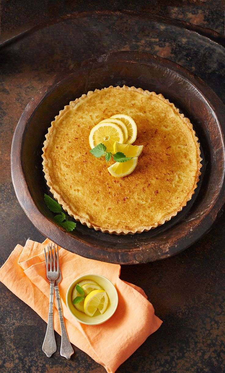 Frische Zitronentarte - Tarte au citron - unglaublich lecker