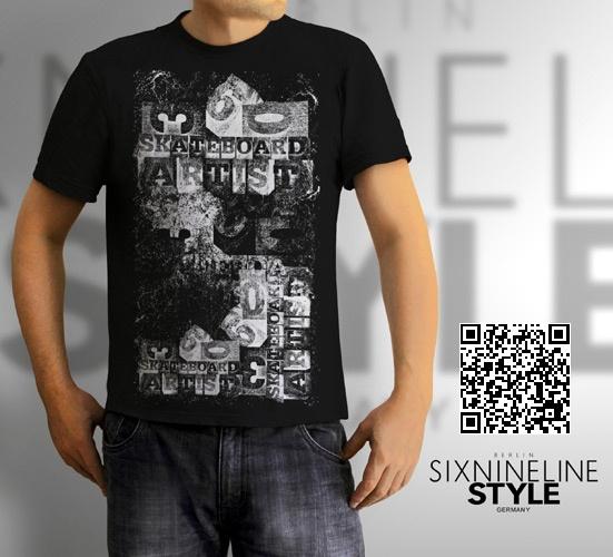 Three Sixty Skateboard Artist T-Shirt http://sixninelinestyle.spreadshirt.de/three-sixty-skateboard-artist-A21688831