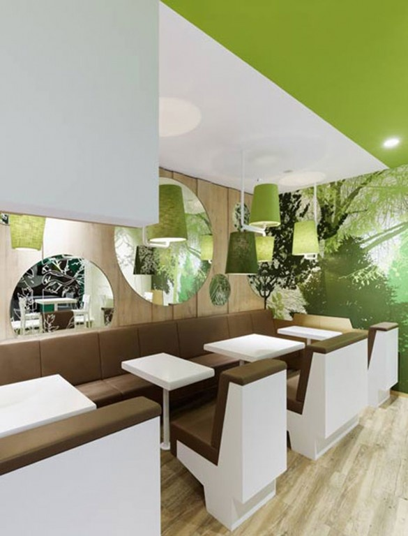 Horeca Interior Pure Green