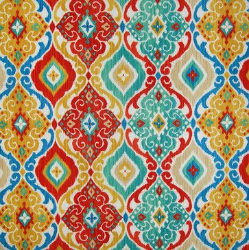 Love this Fabric! Awesome Colors! Boho Chic Upholstery Fabric