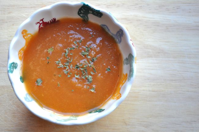 Soup Maker Vegetable and Lentil Soup