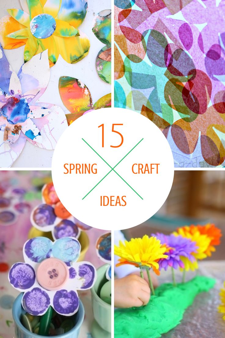 Tutus and Tea Parties: 15 Easy Spring Activities & Crafts