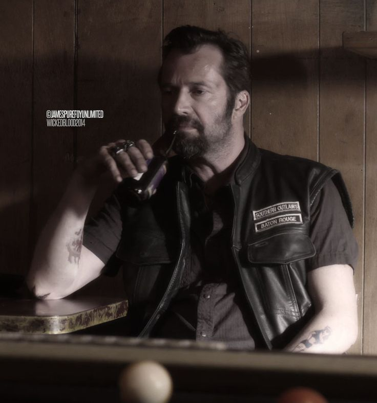 """JAMES PUREFOY as Wild Bill in 'Wicked Blood' (2014) """"One must be cunning and wicked in this world"""" - Leo Tolstoy, 'War and Peace'"""