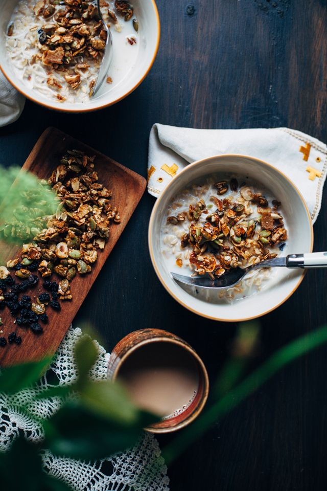 Ayurvedic spiced porridge.