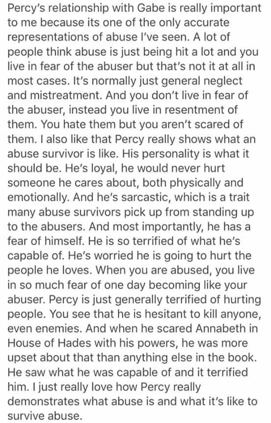 """Well this is not sad at all also I can't wait to show this to cousin because she's all like """"Ya Percy is literally the dumbest person ever blah blah blah"""" Anyway this is really sad"""