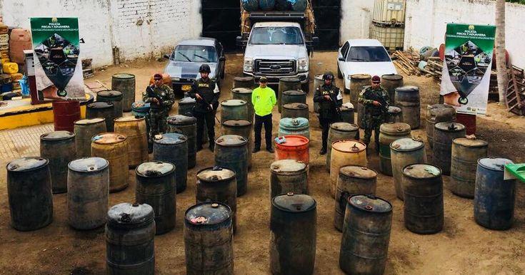 Seis mil galones de gasolina, tres vehículos incautados y cuatro capturas en Albania http://www.hoyesnoticiaenlaguajira.com/2018/01/seis-mil-galones-de-gasolina-tres.html
