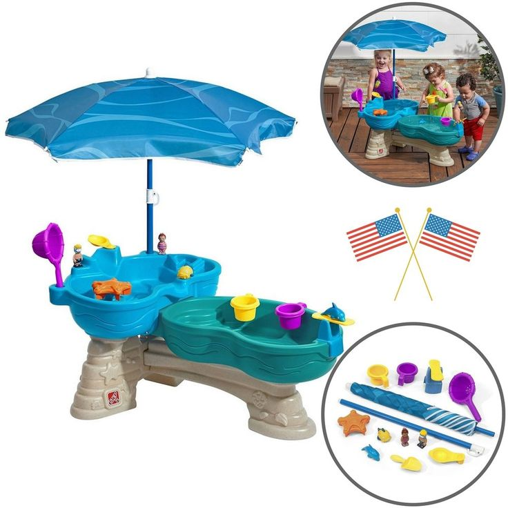Patio Kids Games Fun Splash Seaway Water Table Outdoor Toys Spill Entertainment #PatioKidsGamesFun
