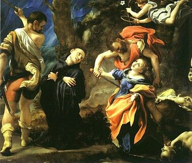 Martyrdom of Four Saints by Antonio da Correggio