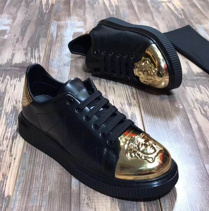 Versace Medusa Leather Nyx Sneakers