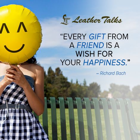 We completely understand the value of #friendship and hence brings to your some best #giftingideas only friends. Visit www.leathertalks.com to know more.