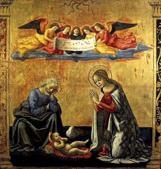 Domenico Ghirlandaio: La Natividad, 1492.: