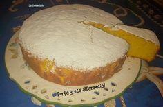 #Torta greca con #arancia!