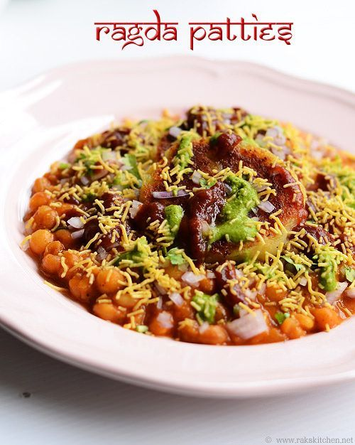 Ragda pattice ragda patties recipe i cook different for Recipes with minimal ingredients