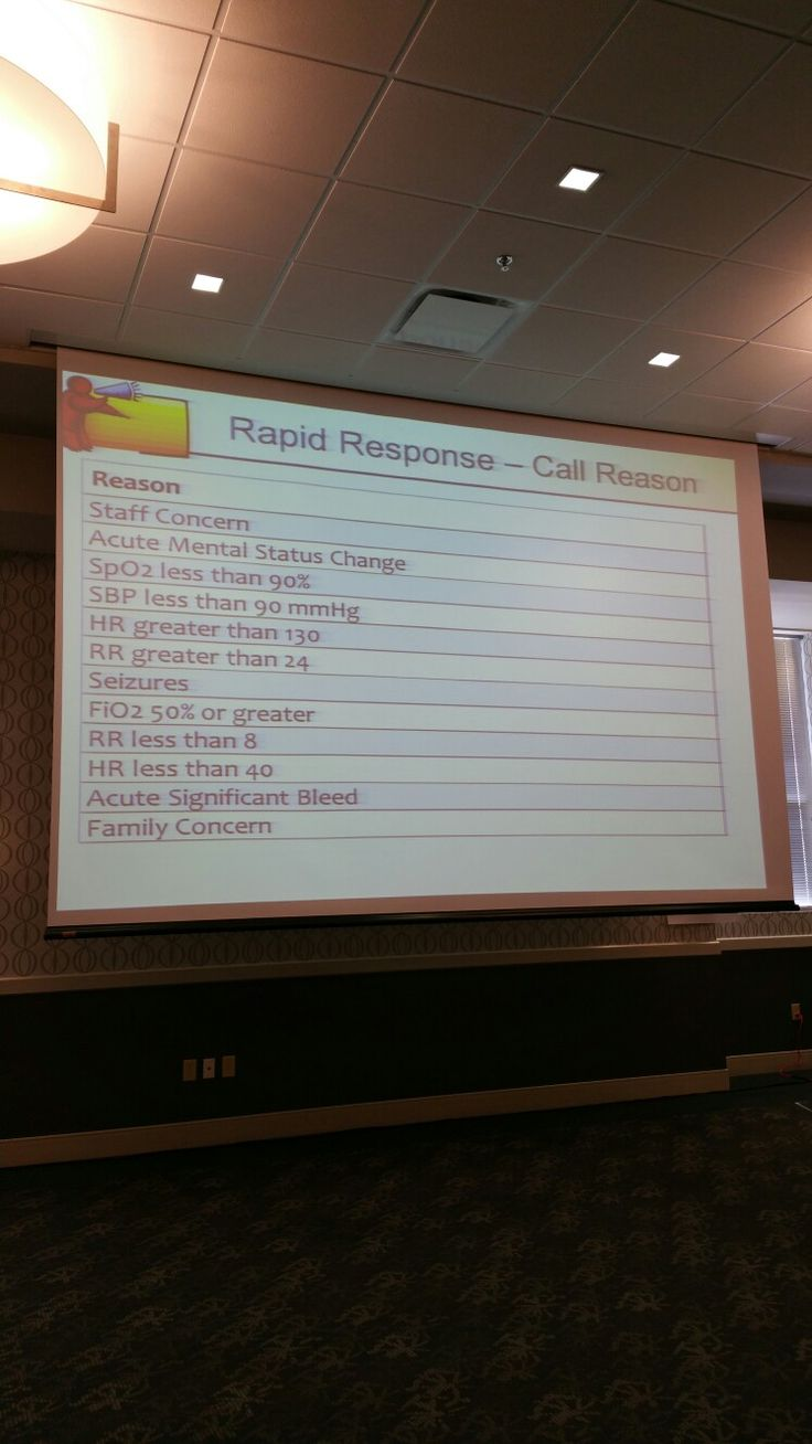 Reasons to call rapid response 324 best