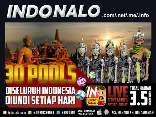Angka Jitu Pools Online Nalo : http://www.indonalo.net Agen Togel Online Indonesia Menghadirkan  Togel atau Pools 30 Kota Di Indonesia Pertama dan Satu-  Satunya di Indonesia DIUNDI SETIAP HARI http://goo.gl/qLSlS0  Main Live Streaming Setiap Hari Jumat,  Total Hadiah 3.5 Miliar Rupiah ( 1st @ Rp.1M , 2nd @  Rp.500Jt , 3rd @ Rp.250Jt ) http://goo.gl/qLSlS0  Semua Jadwal dan Hasil keluaran akan mengikuti Waktu  Indonesia Barat (WIB)  Diskon yang diberikan http://www.indonalo.net sangat…