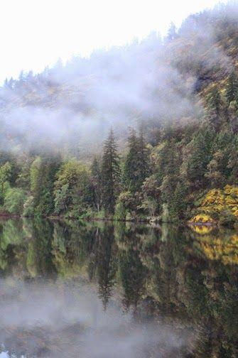 Lake Mesachie, near Victoria, BC