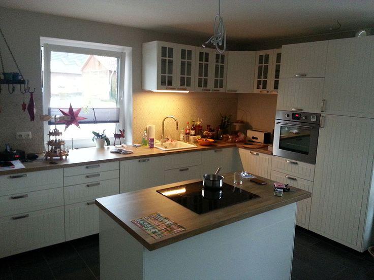 Die besten 25+ Country Ikea Küchen Ideen auf Pinterest - kche mit kochinsel landhaus