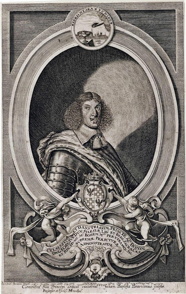 George III of Brieg, Duke of Liegnitz-Brieg (Legnica-Brzeg) by Johann-Baptist Paravicini after Ezechiel Paritius, ca. 1656 (PD-art/old), Herzog Anton Ulrich-Museum