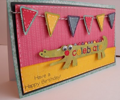 Cricut Birthday Bash - Alligator