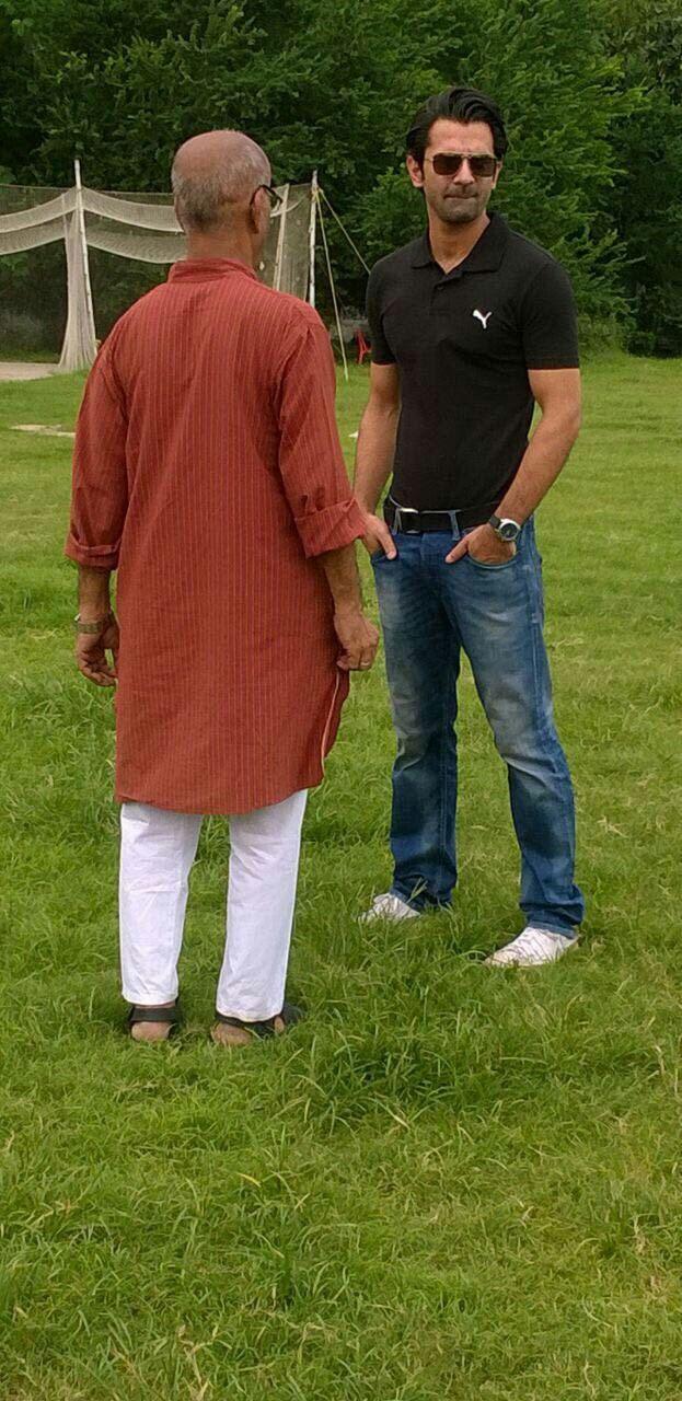 Pic tweeted by Barun