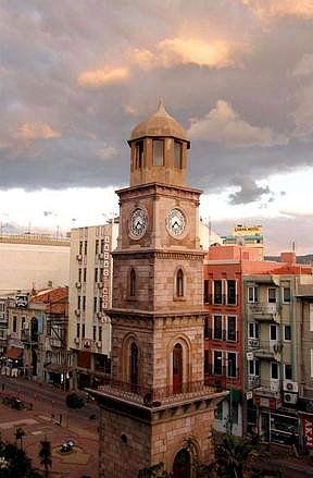 Çanakkale clock tower. TURKEY.