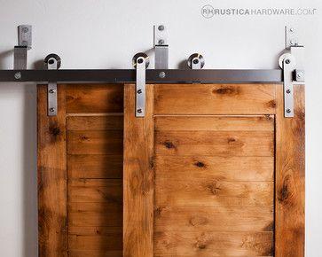 Bypass Barn Door Hardware (Standard) modern hardware, $436