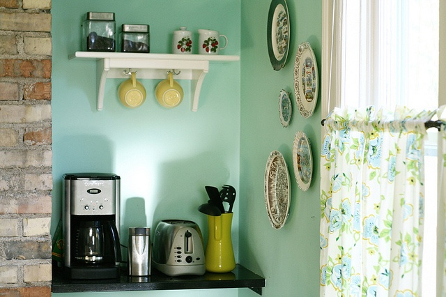 i want to create a coffee nook in our new home